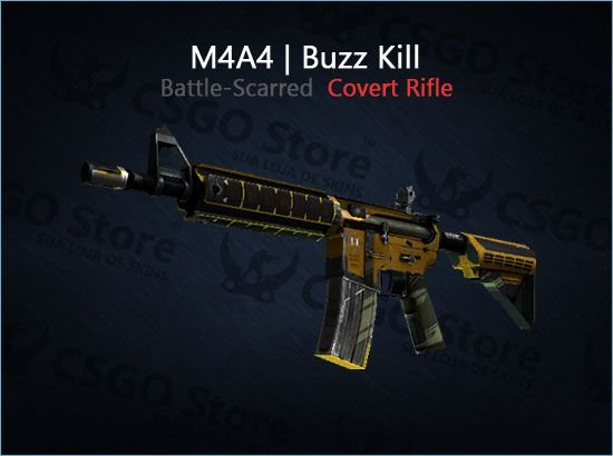 M4A4 | Buzz Kill (Battle-Scarred)