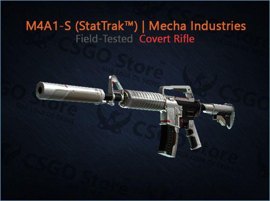 M4A1-S StatTrak™ | Mecha Industries (Field-Tested)