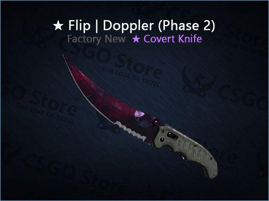 ★ Flip Knife | Doppler Phase 2 (Factory New)