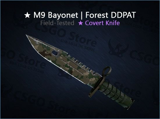 ★ M9 Bayonet | Forest DDPAT (Field-Tested)