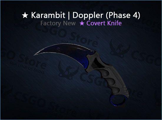 ★ Karambit   Doppler Phase 4 (Factory New)