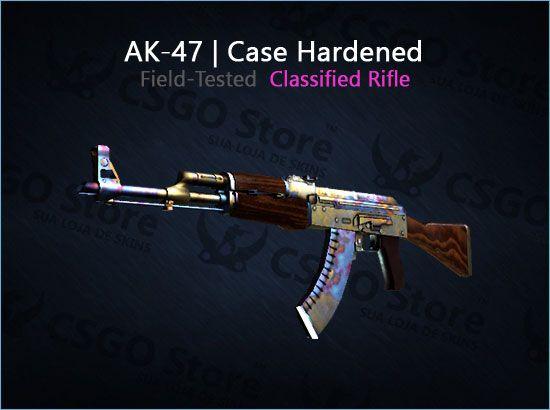 AK-47   Case Hardened (Field-Tested)