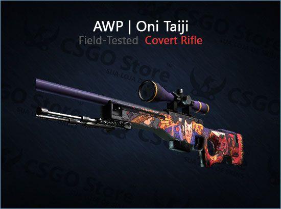 AWP   Oni Taiji (Field-Tested)