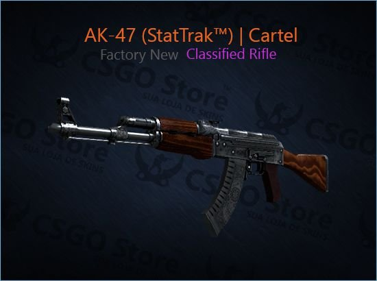 AK-47 (StatTrak™) | Cartel (Factory New)