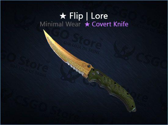 ★ Flip Knife   Lore (Minimal Wear)