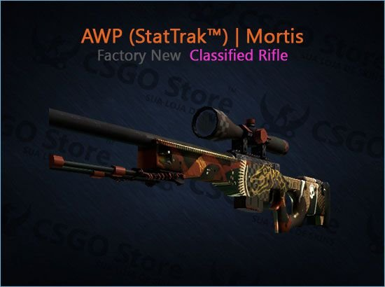 AWP (StatTrak™) | Mortis (Factory New)