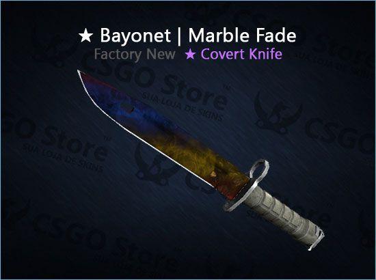 ★ Bayonet | Marble Fade 0.008 (Factory New)