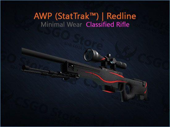 AWP (StatTrak™) | Redline (Minimal Wear)
