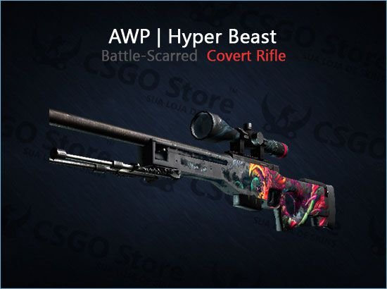 AWP | Hyper Beast (Battle-Scarred)