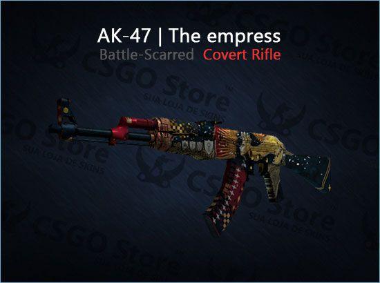 AK-47   The Empress (Battle-Scarred)