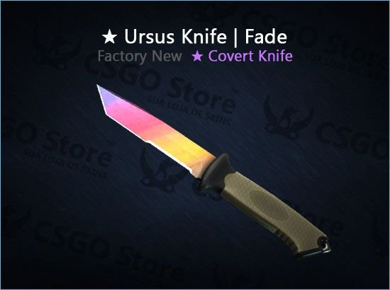 ★ Ursus Knife | Fade (Factory New)