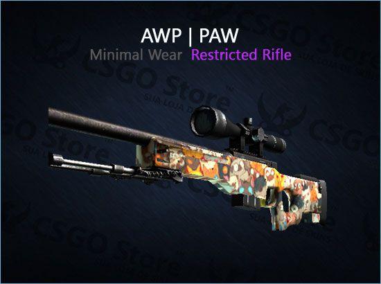 AWP | PAW (Minimal Wear)