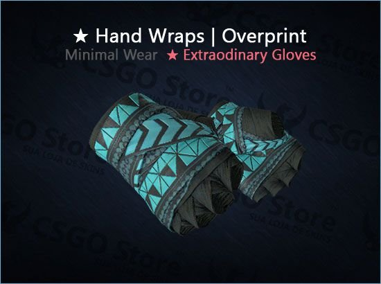 ★ Hand Wraps | Overprint (Minimal Wear)