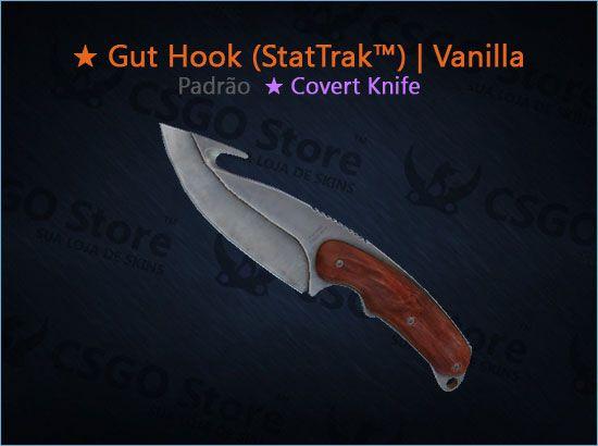 ★ Gut Knife (StatTrak™) | Vanilla (Padrão)