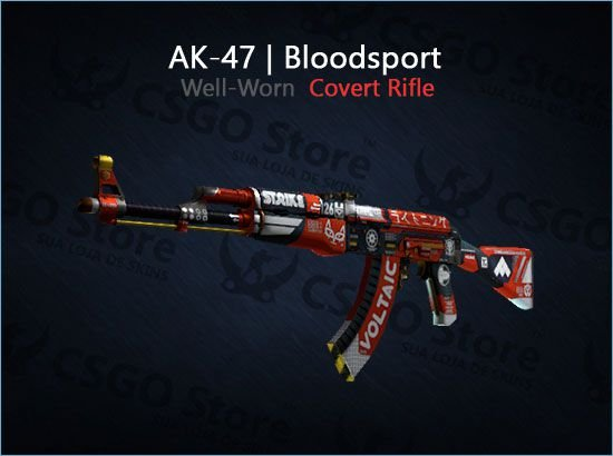 AK-47 | Bloodsport (Well-Worn)