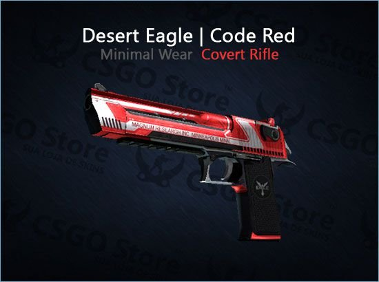 Desert Eagle | Code Red (Minimal Wear)