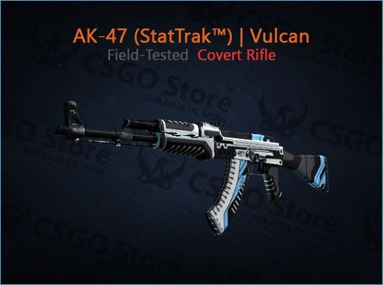 AK-47 (StatTrak™) | Vulcan (Field-Tested)