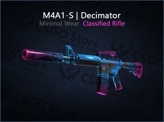 M4A1-S | Decimator (Minimal Wear)