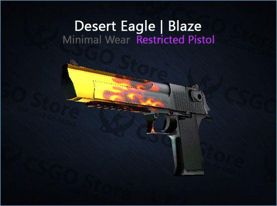 Desert Eagle | Blaze (Minimal Wear)