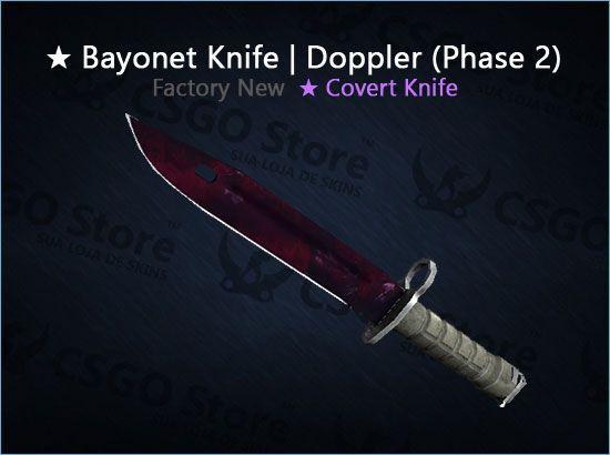 ★ Bayonet | Doppler Phase 2 (Factory New)