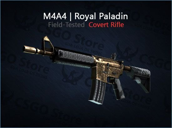 M4A4 | Royal Paladin (Field-Tested)