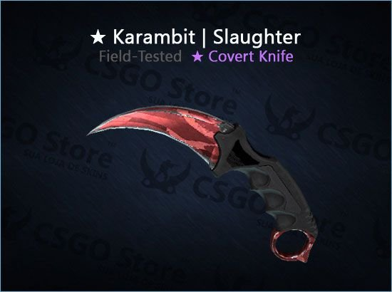 ★ Karambit | Slaughter 0.19 (Field-Tested)