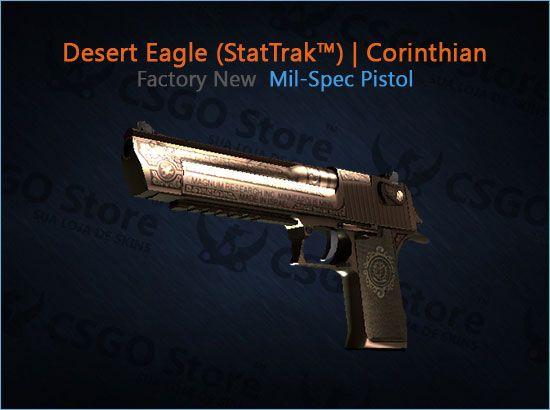 Desert Eagle (StatTrak™) | Corinthian (Factory New)