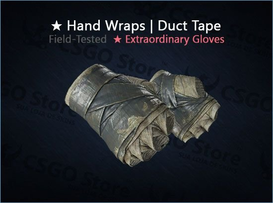 ★ Hand Wraps | Duct Tape (Field-Tested)