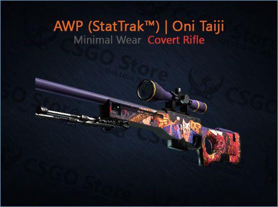 AWP (StatTrak™) | Oni Taiji (Minimal Wear)