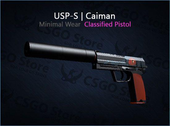 USP-S | Caiman (Minimal Wear)