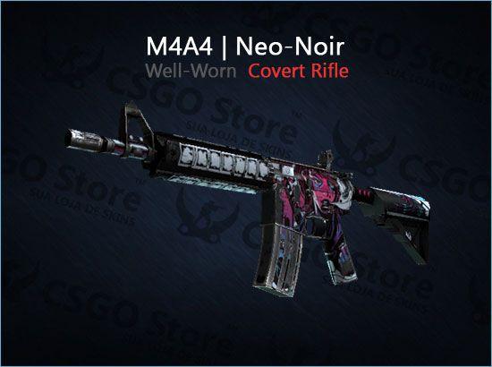 M4A4 | Neo-Noir (Well-Worn)
