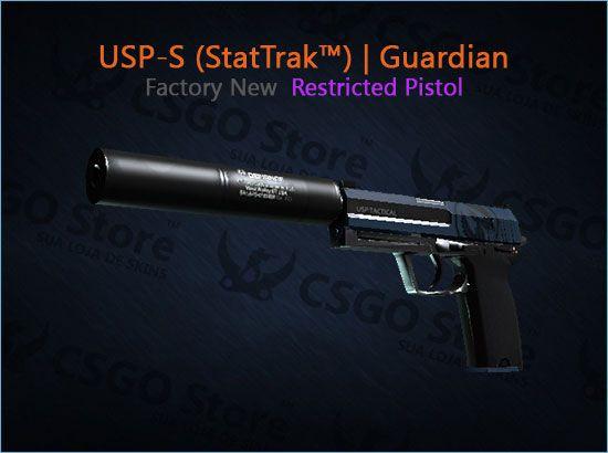 USP-S (StatTrak™) | Guardian (Factory New)