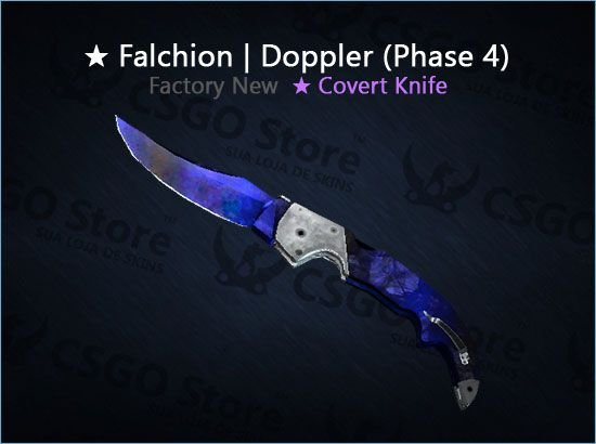 ★ Falchion Knife | Doppler Phase 4 (Factory New)