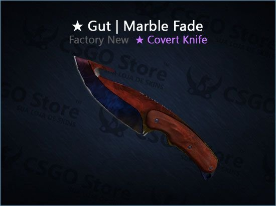 ★ Gut Knife | Marble Fade (Factory New)
