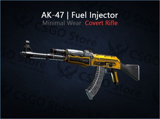 AK-47 | Fuel Injector (Minimal Wear)