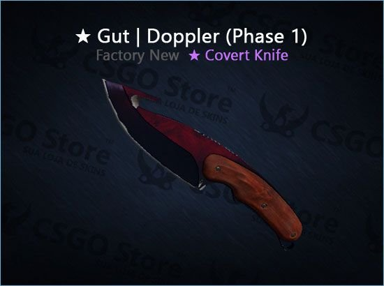 ★ Gut Knife | Doppler Phase 1 (Factory New)