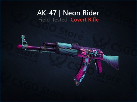 AK-47 | Neon Rider (Field-Tested)
