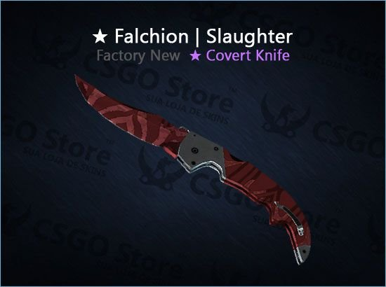★ Falchion Knife | Slaughter (Factory New)