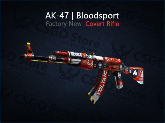 AK-47   Bloodsport (Factory New)