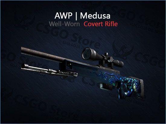 AWP | Medusa (Well-Worn)