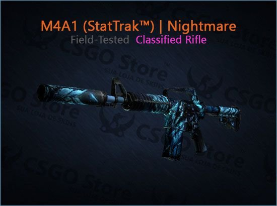 M4A1-S (StatTrak™) | Nightmare (Field-Tested)