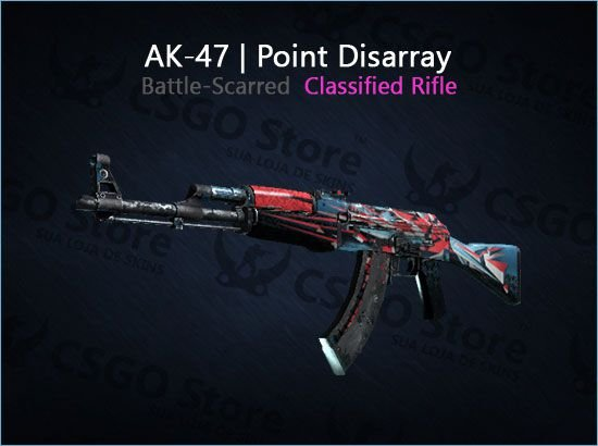 AK-47 | Point Disarray (Battle-Scarred)