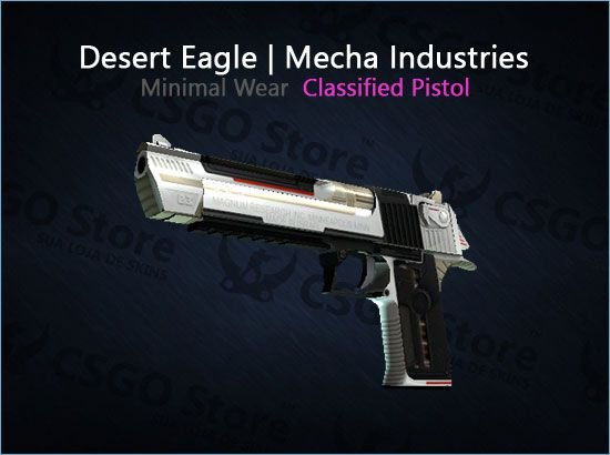 Desert Eagle | Mecha Industries (Minimal Wear)