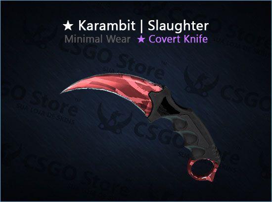 ★ Karambit | Slaughter (Minimal Wear)