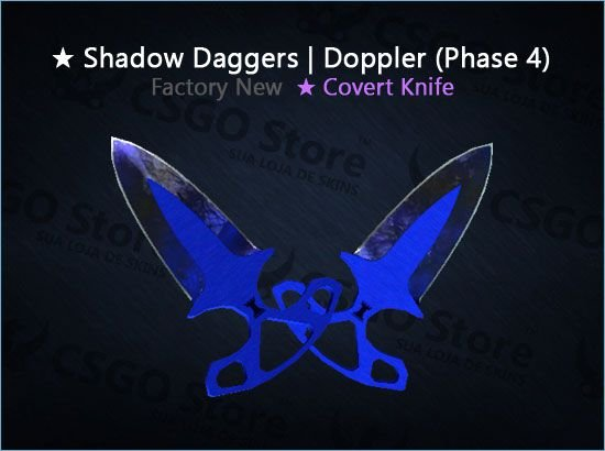 ★ Shadow Daggers | Doppler Phase 4 (Factory New)