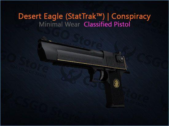 Desert Eagle (StatTrak™) | Conspiracy (Minimal Wear)