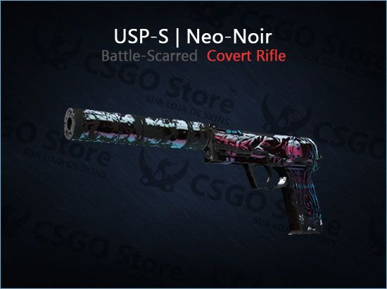 USP-S | Neo-Noir (Battle-Scarred)