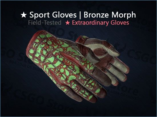 ★ Sport Gloves | Bronze Morph (Field-Tested)