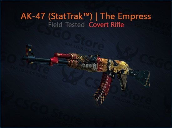 AK-47 (StatTrak™) | The Empress (Field-Tested)