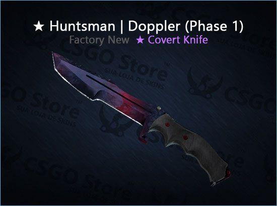 ★ Huntsman Knife | Doppler Phase 1 (Factory New)